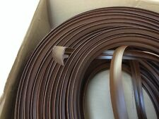 10 METRE BROWN T TRIM FURNITURE KNOCK ON EDGING  VW CAMPER CARAVAN MOTORHOME ETC