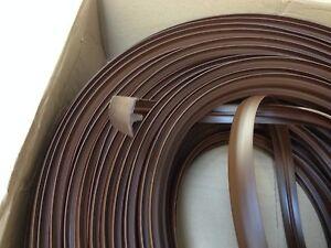 10 metre brown t trim furniture knock on edging vw camper for Furniture t trim edging