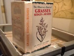 Observers Book Of Grassessedges amp Rushes 1956 - <span itemprop=availableAtOrFrom>Keighley, United Kingdom</span> - Observers Book Of Grassessedges amp Rushes 1956 - Keighley, United Kingdom