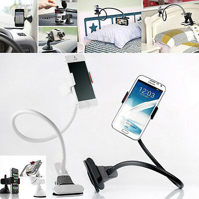 FLEXIBLE UNIVERSAL CAR HOLDER DESKTOP BED LAZY STAND FOR LATEST MOBILE PHONES UK
