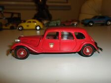 DUBRAY RED CITROEN 11B MADE IN FRANCE & MADE OF PLASTIC IN EXCELLENT CONDITION