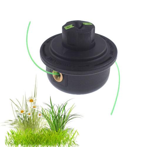 Dual Petrol Trimmer Strimmer Line Brushcutter Bump Feed Spool Head Standard Fit