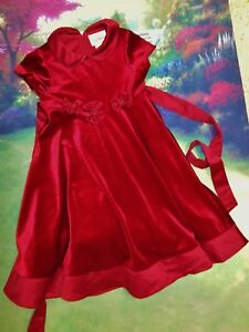 image is loading rare editions christmas dress size 6x girls designer