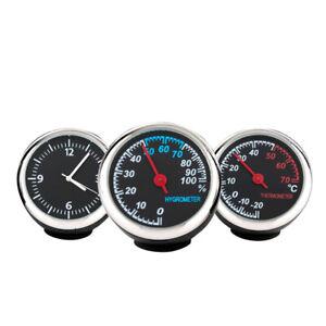 Voiture-lumineux-voiture-Digital-Quartz-Horloge-mecanique-Thermometre-Hygrometre