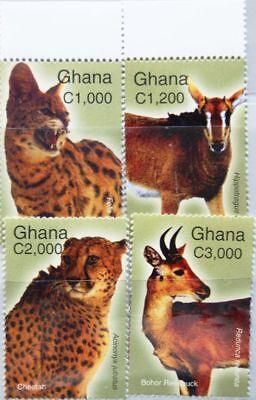 Ghana Ghana 2004 3692-99 2446-50 Mammals Säugetiere Tiere Animals Fauna Nature Mnh Reisen Briefmarken