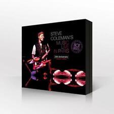 Coleman,Steve - Steve Coleman's Music Live in Paris : 20th Anniver - CD