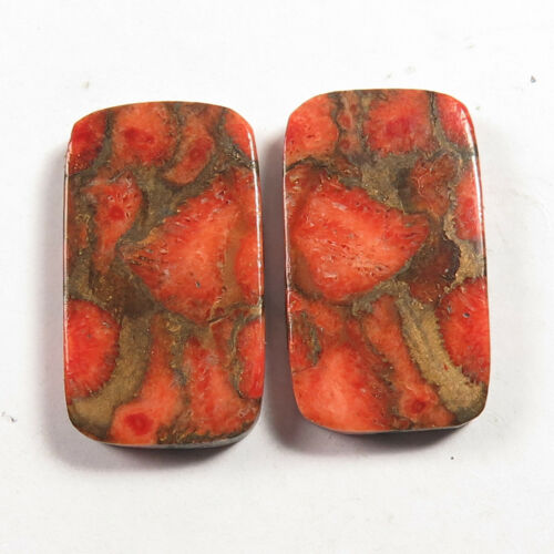 ORANGE COPPER TURQUOISE 1 Pair Choose From Variation #0143 Manufacturer
