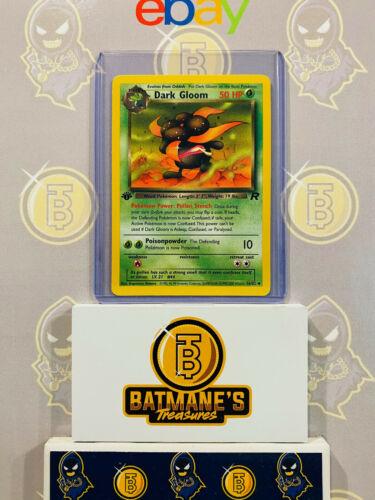 Details about  /Dark Gloom 36//82 1st Edition NM Near Mint Team Rocket Non-Holo Pokemon Card