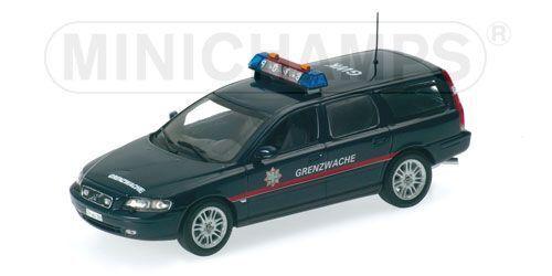 moda clasica Volvo V70    Grenzwache Schweiz (ZH)  1998 (Minichamps 1 43   430 171898)  ofreciendo 100%