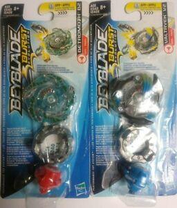 Lot-of-2-Beyblade-Burst-Evolution-Single-Top-Pack-Valtryek-V2-amp-Betromoth-B2