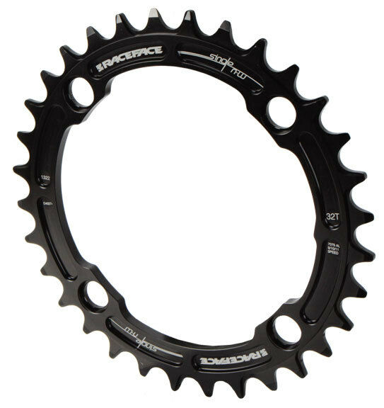 104mm BCD 36t Green Race Face Single Narrow Wide 1x MTB Chainring