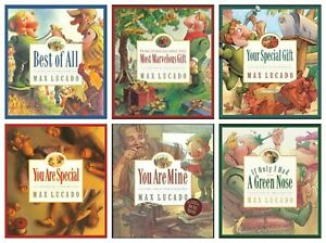 NEW-Wemmicks-Set-of-6-Hardcover-Books-by-Max-Lucado-You-Are-Special-Punchinello