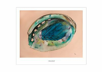 "/""Abalone/"" Signed and Numbered Limited Edition Print by Eric Lutes"