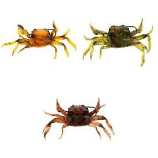 Salz /& Krabbengeruch 2 Stücke Angeln Krabbe Lure Simulation Krabbe Fischköder