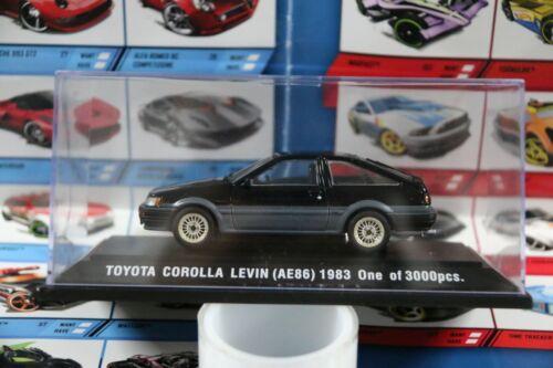 1983 NO BOX Small AE86 EBBRO 1//43 SCALE DIE-CAST MODEL CAR TOYOTA COROLLA LEVIN
