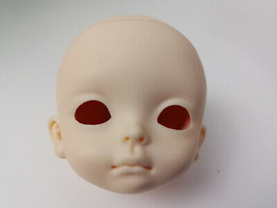 New 1//4 BJD SD Doll Head Male//Female Dolls Practice Makeup Prime head Gift