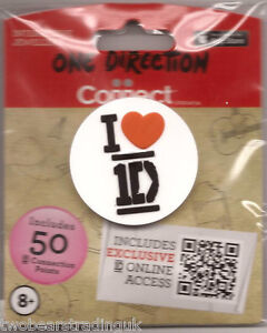 ONE-DIRECTION-I-LOVE-HEART-1D-EMBOSSED-RUBBER-PIN-BADGE-New-Sld