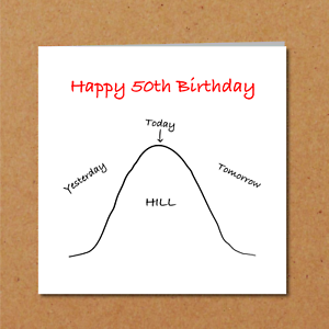 Image Is Loading Funny 50th Birthday Card Family Friends Humorous Cheeky