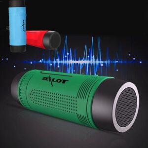 Bluetooth Wireless Speaker Waterproof SUPER BASS Portable For Smartphone Tablet