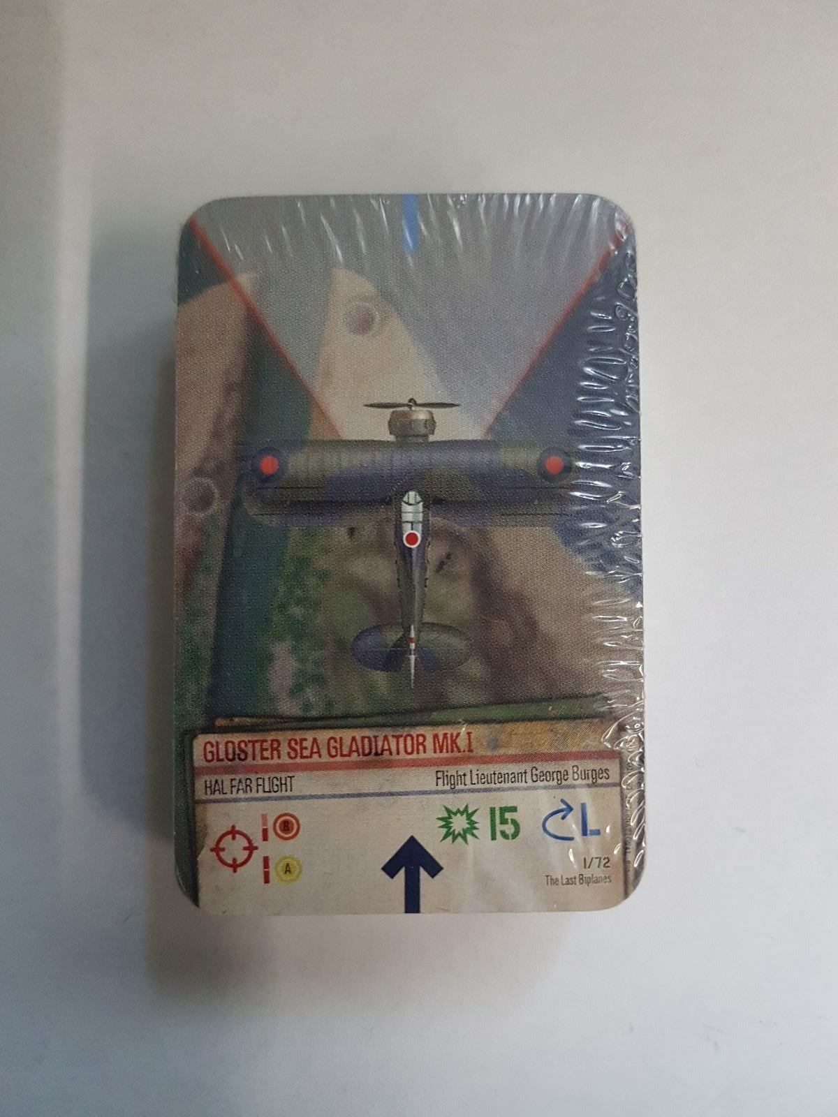 THE LAST BIPLANES - WINGS OF WAR   GLORY - ARES - NEW & SEALED - B