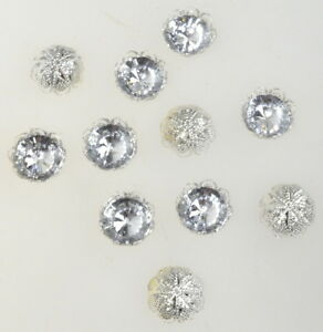 48-Stk-Diamanten-14mm-Acryl-Fassung-EDEL-Streudiamanten-Acryldiamanten-Tischdeko