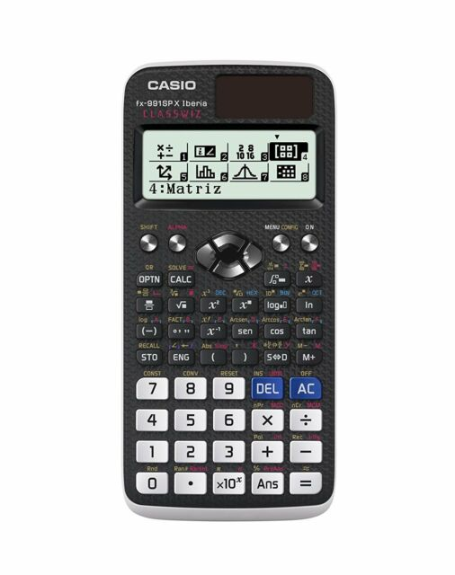 Calculadora Cientifica CASIO Original fx-991SP X ClassWiz Iberia