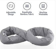 Office **New** Huzi Design Infinity Pillow Grey for Multi Use inc Travel Home