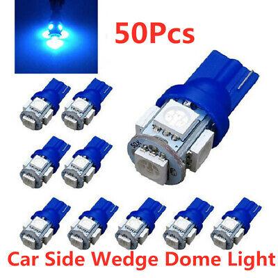 2x Blue 5050-SMD 168 Led Light for Dodge Chrysler License Place Light Decoration