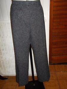 Pantalon-hiver-gris-mouchete-UN-JOUR-AILLEURS-42-44-taille-extensible-17ts3