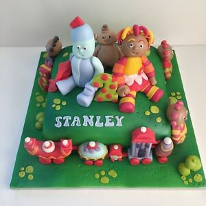 Image Is Loading In The Night Garden Cake Toppers Edible Sugar