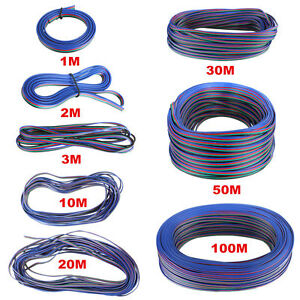 2-Pin-amp-4-Pin-Extension-Cable-Wire-For-3528-5050-Single-RGB-LED-Light-Strips