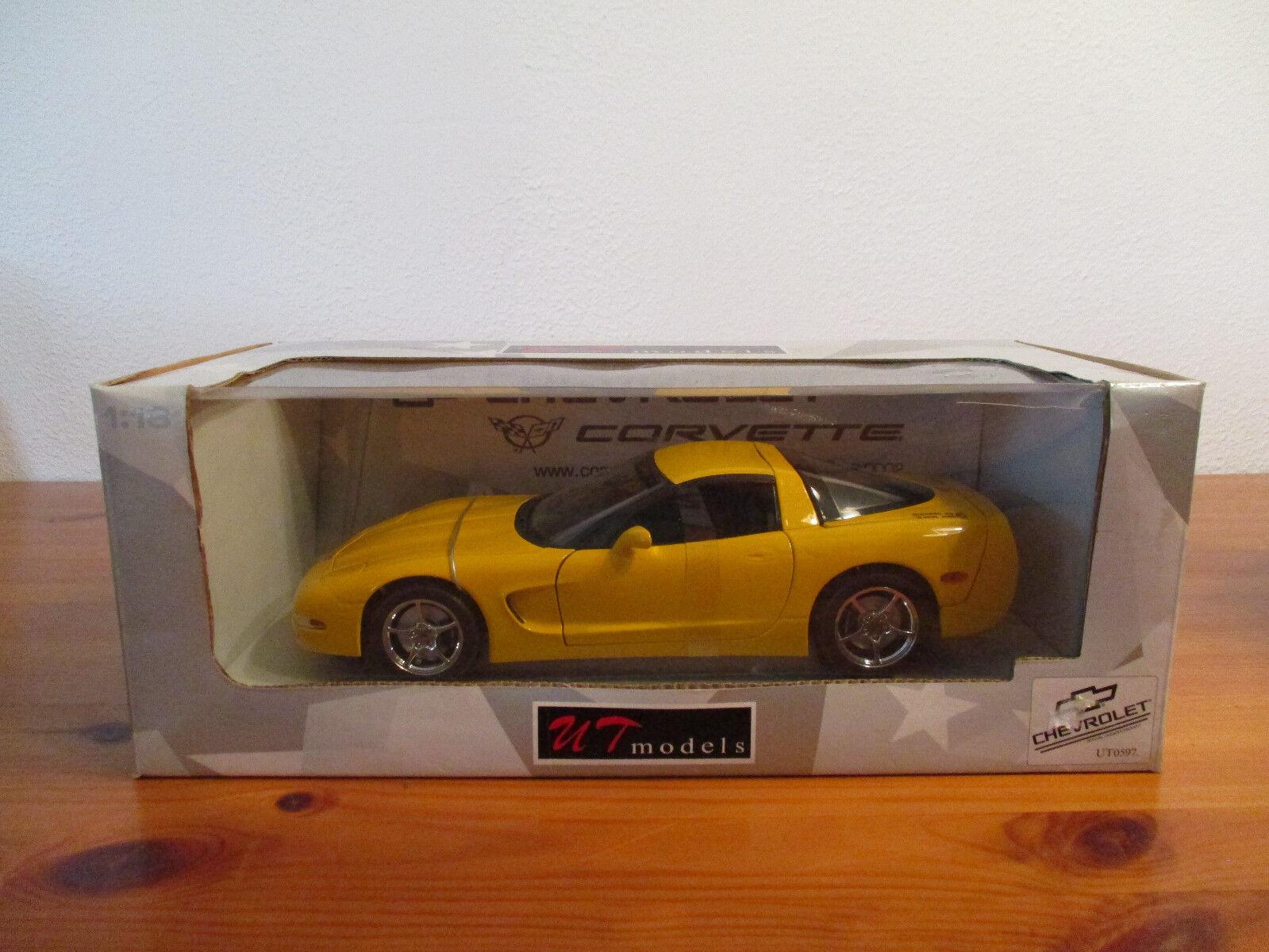 ( GO ) 1 18 UT Models Chevrolet Corvette NEU OVP