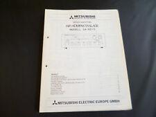 Original Service Manual Mitshubishi DA-R210