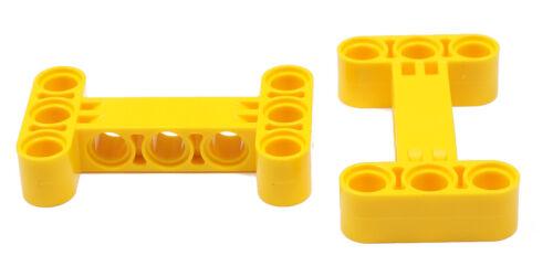 LEGO Technik 14720 NEUWARE 2 Liftarme 3x5 dick  H Form gelb