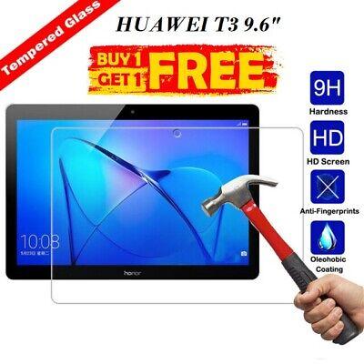 "Buy1 Get1 Free Tempered Glass Screen Protector For Huawei Mediapad T3 10 9.6"" GüNstigster Preis Von Unserer Website"