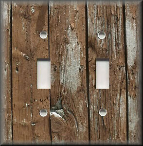 Image Is Loading Metal Light Switch Plate Cover Home Decor Rustic