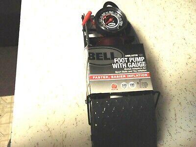 BELL~Airblaster 500~Foot Pump W// 4 different Gauges