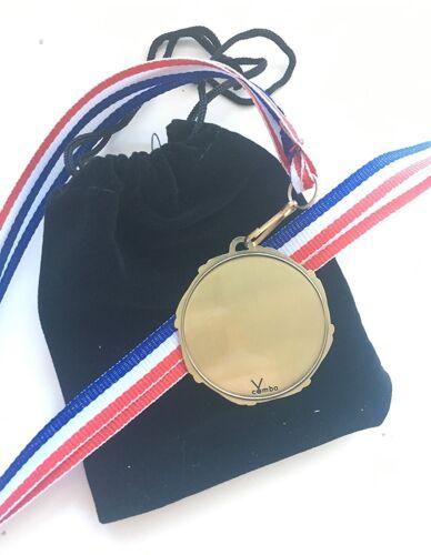 insigne Personnalisé Combo Cyclisme 45 mm médaille 800 mm Ruban /& gift pouch