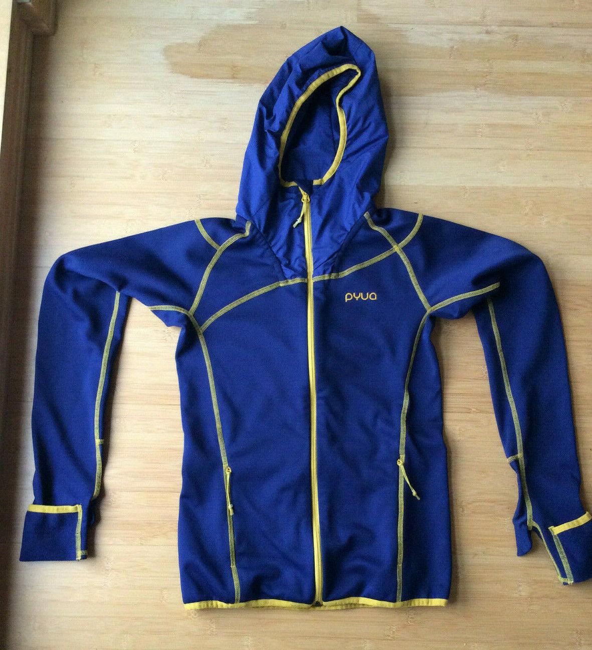 PYUA Ascend Fleece Jacket Frauen Sport Ski Laufen Jogging Größe XS Farbe  Blau