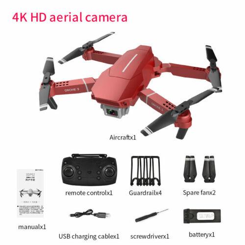 F98 Drone Hd Wide Angle 4k Wifi 1080p Fpv Quadcopter Video Live Recording Toys