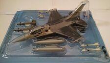 F-16 a, ITALERI, 1:100, metallo, die cast, modello finito, * NUOVO *