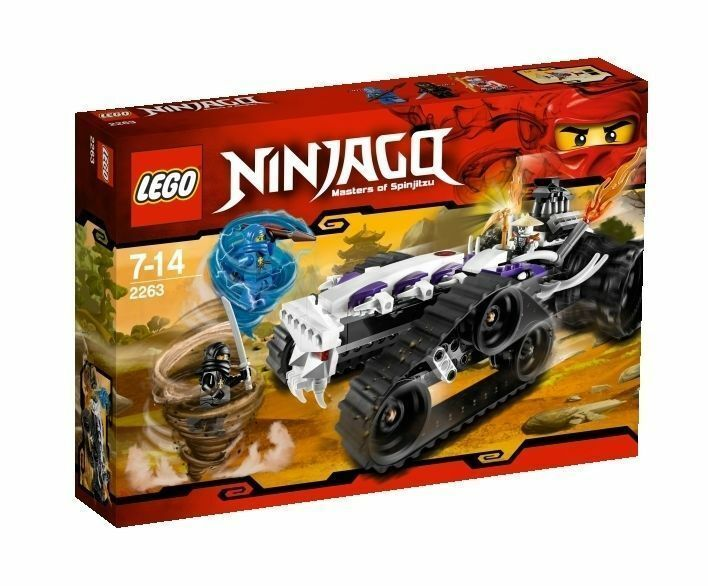 LEGO NINJAGO Turbo Shredder 2263 Cole Jay Frakjaw NEW spinjitzu minifigure