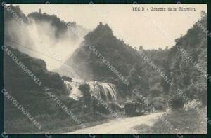 Terni Città Cascata delle Marmore Tram cartolina RT3940
