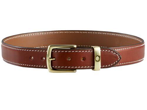 Size 38 Aker Leather B21-TP-38 Men/'s Plain Tan Conceal Carry Gun Belt
