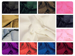 8-Wale-Cotton-Corduroy-Fabric-Material-56-034-144cm-wide-Many-Colours