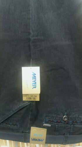 "MEYER Chicago Pantaloni di cotone pesante in Blu Scuro francese 5555//18 42/"" 44/"" 46/"" 48/"" 50/"" 52/"""