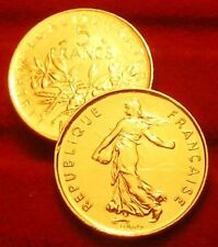 OR/GOLD  PL   5  FRANCS  SEMEUSE    1990  EDITION LIMITEE