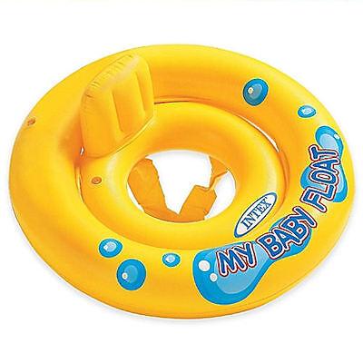 POOL INFLATABLE MY BABY FLOAT RAFT INTEX TUBE FUN TOY