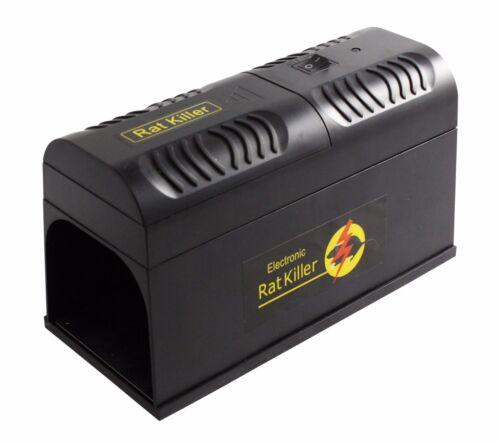 8 2x elettrici BIRILLO ratti caso caso mouse Ratto batteria alimentazione o