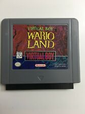 Virtual Boy Wario Land Nintendo Virtual Boy Game Cartridge Tested And Working